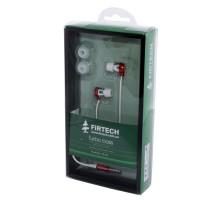 Наушники-вкладыши Firtech FE-062 красные