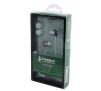 Наушники-вкладыши Firtech FE-062 фиолетовые