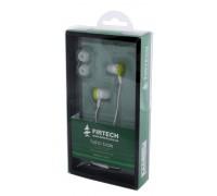 Наушники-вкладыши Firtech FE-072 зеленые
