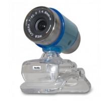 Веб-камера HARDITY IC-510 голубая (УЦЕНКА) с микрофоном