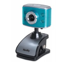 Веб-камера HARDITY IC-520 голубая (УЦЕНКА) с микрофоном