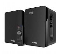 Колонки 2.0 SVEN SPS-710 Bluetooth, SD, USB, FM, часы, ду, будильник