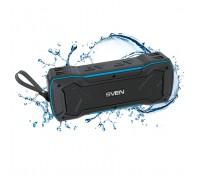 Колонка SVEN PS-220 black-blue (bluetooth) влагозащищенная