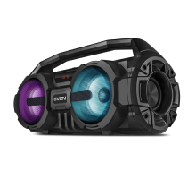 Колонка SVEN PS-415 Black (12 Вт, Bluetooth, FM, USB, microSD, LED-дисплей, 1500мА*ч)