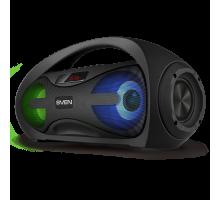 Колонка SVEN PS-425 Black (12 Вт, Bluetooth, FM, USB, microSD, LED-дисплей, 1500мА*ч)