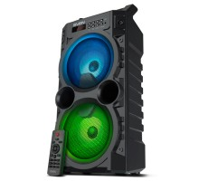 Колонка SVEN PS-440 Black (20W, TWS, Bluetooth, FM, USB, microSD, LED-display, RC, 2x2000mA*h)