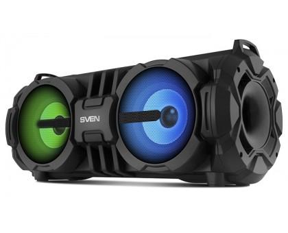 Колонка SVEN PS-485 Black (bluetooth, подсветка)