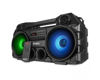 Колонка SVEN PS-580 Black (bluetooth, подсветка, караоке)