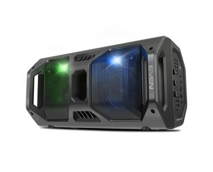 Колонка SVEN PS-600 Black (bluetooth, подсветка, караоке)