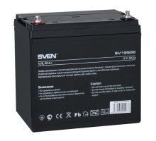 Аккумуляторная батарея SVEN SV12500 (12V 50Ah)