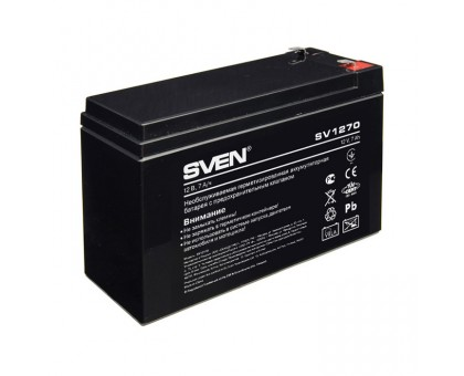 Аккумуляторная батарея SVEN SV1270 (12V 7Ah)