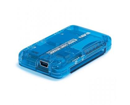 Кардридер Sven AC-116 All-In-One, внешний, синий