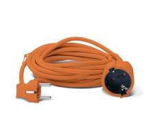Удлинитель SVEN Elongator-3G-10м orange
