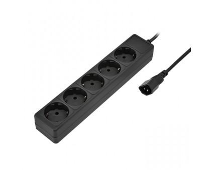 Удлинитель SVEN Special base 0,5м. черный (для UPS)