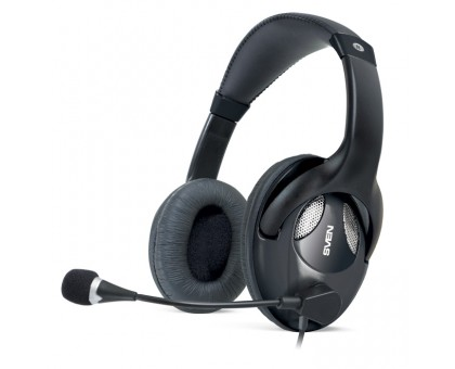 Наушники SVEN AP-670MV с микрофоном черные (УЦЕНКА)