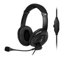 Наушники SVEN AP-675MV с микрофоном черные уценка