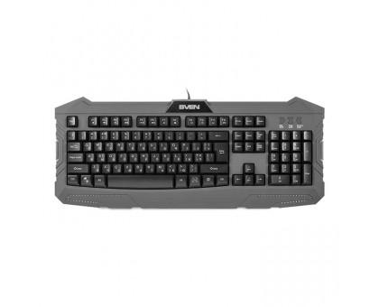 Клавиатура SVEN Challenge 9100 игровая с подсветкой
