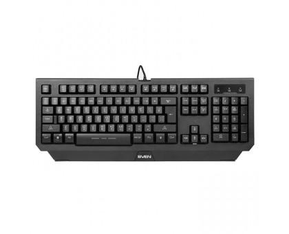 Клавиатура SVEN Challenge 9300 игровая с подсветкой