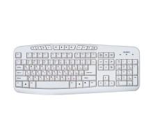 Клавиатура SVEN Comfort 3050 USB белая