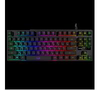 Клавиатура SVEN KB-G7400 TKL игровая с подсветкой черная