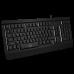Клавиатура SVEN KB-G9450 игровая с подсветкой черная