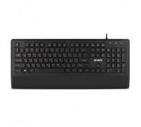 Клавиатура SVEN KB-E5500 черная