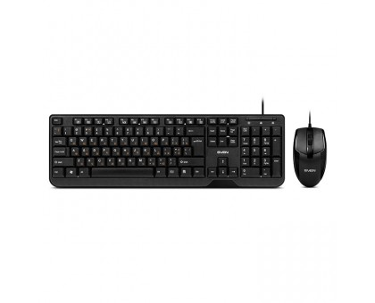 Клавиатура + мышка SVEN Standard 300 combo, USB черная