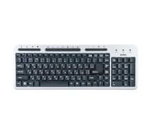 Клавиатура SVEN Standard 309M USB серебро