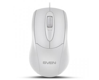 Мышка SVEN RX-110 USB белая
