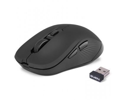 Мышка SVEN RX-560SW черная беспроводная тихая