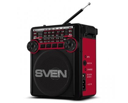 Портативный радиоприемник SVEN SRP-355 красный