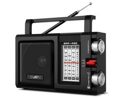Портативный радиоприемник SVEN SRP-450 черный