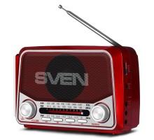 Портативный радиоприемник SVEN SRP-525 красный