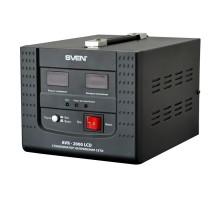 Стабилизатор напряжения SVEN AVR-2000 LCD (УЦЕНКА)