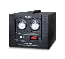 Стабилизатор напряжения SVEN AVR-800 (УЦЕНКА)