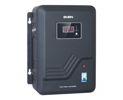 Стабилизатор напряжения SVEN AVR PRO-8000 LCD (УЦЕНКА)
