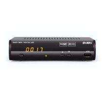 Цифровой тюнер DVB-T/T2 SVEN EASY SEE-150 DD LED