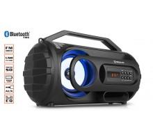 Колонка REAL-EL X-710 Black (bluetooth, підсвічування, TWS, USB, Micro SD)