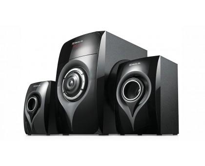 Колонки 2.1 REAL-EL M-370 Bluetooth (44Вт) black