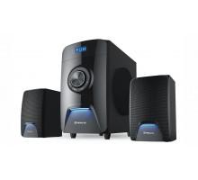 Колонки 2.1 REAL-EL M-570 Bluetooth, караоке (58Вт) black