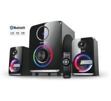 Колонки 2.1 REAL-EL M-580 black УЦІНКА (58Вт, Bluetooth, USB, SD, FM, ДК)