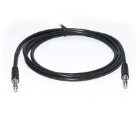 Кабель REAL-EL Audio Pro 3.5mm M - 3.5mm M 1m черный