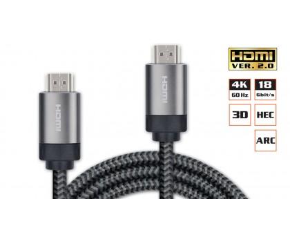 Кабель REAL-EL HDMI Premium V2.0 M-M 2 метра