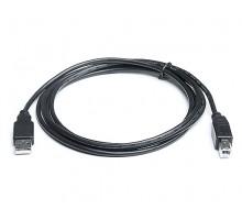 Кабель REAL-EL USB2.0 AM-BM (интерфейсный) 1,8m черный