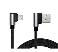 Кабель REAL-EL USB 2.0 Premium AM-8pin (Lightning) 1m черный