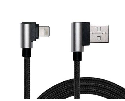 Кабель REAL-EL USB 2.0 Premium AM-8pin (Lightning) 1m черный