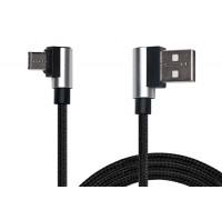 Кабель REAL-EL USB 2.0 Premium AM - Type C 1m черный