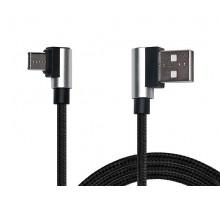 Кабель REAL-EL USB 2.0 Premium AM - Type C 1m чорний