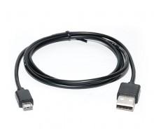 Кабель REAL-EL USB 2.0 Pro AM-microUSB type B 0.6m чорний
