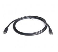 Кабель REAL-EL USB3.0 Type C-Type C 1m черный